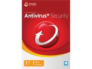 TREND MICRO Titanium AntiVirus+ 2014 - 1 PC