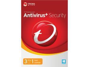 TREND MICRO Titanium AntiVirus+ 2014 - 3 PCs