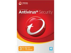 TREND MICRO Titanium AntiVirus+ 2014 3 PCs - Download