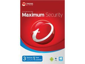 TREND MICRO Titanium Maximum 2014 3 PCs - Download