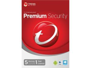 TREND MICRO Titanium Maximum Premium 2014 5 PCs - Download