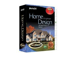 Punch! Software Home & Landscape Design Architectural Series With Nexgen