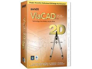 Punch! Software ViaCAD 2D PC Mac V7 Small Box