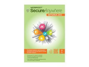 Webroot SecureAnywhere Antivirus – 3 User