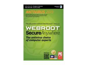Webroot SecureAnywhere Antivirus 2013 - 3 Devices