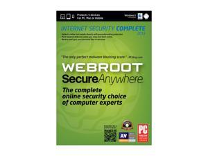 Webroot SecureAnywhere Complete 2013 - 5 Devices