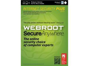 Webroot SecureAnywhere Internet Security Plus - 3 Device - Download