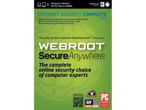 Webroot SecureAnywhere Complete - 5 Device - Download