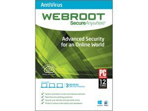 Webroot SecureAnywhere AntiVirus 2014 - 3 Devices
