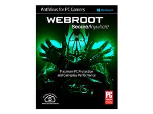 AntiVirus for PC Gamers 2015 1 Year 1 Device PC