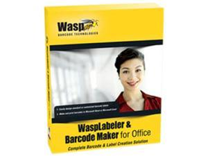 Wasp WaspLabeler & Barcode Maker for Office (1 User License)