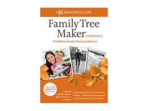 Nova Development Family Tree Maker 2012 Essentials