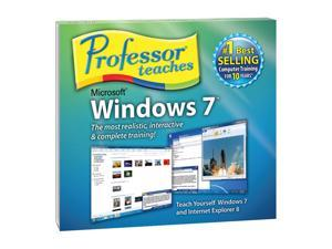 Individual Software Professors Teaches Windows 7 Jewel Case