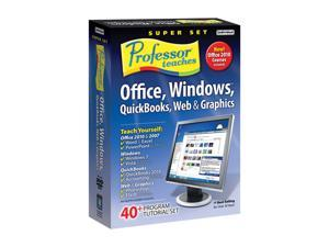 Individual Software Professor Teaches Office Super Set 2010