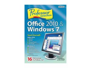 Individual Software Professor Teaches Office 2010 & Windows 7 - System Builder - OEM