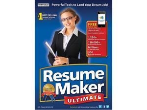 Individual Software Resumemaker Ultimate 6