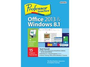 Individual Software Professor Teaches Office 2013 & Windows 8.1