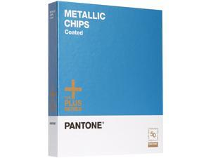 PANTONE METALLIC CHIPS coated
