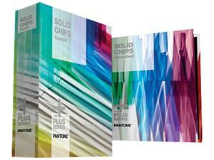 PANTONE PLUS SERIES SOLID CHIPS Coated & Uncoated (2 BOOK SET)