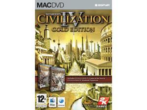 Civilization 4 Gold Edtion - Mac Game