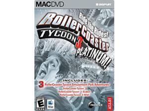 Rollercoaster Tycoon 3 Platinum - Mac Game