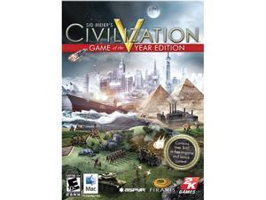 Sid Meier's Civilization V Game of the Year Edition - Mac Game