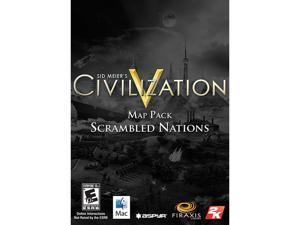 Civilization V: Scrambled Nations Map Pack for Mac [Online Game Code]