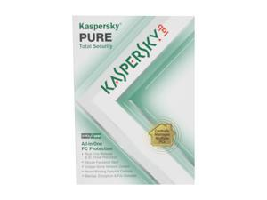 KASPERSKY lab PURE Total Security - 3 PCs