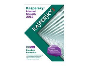 KASPERSKY lab Internet Security 2012 - 1 User For System Builders - OEM