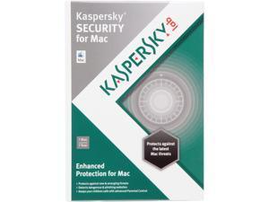 KASPERSKY lab Security for Mac - 1 User - Download