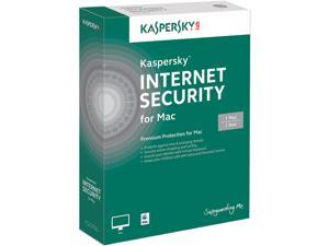 KASPERSKY lab Internet Security for Mac - 1 Mac