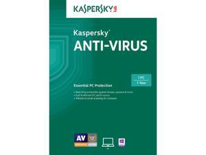 Kaspersky Anti-Virus 2015 1 User - Download