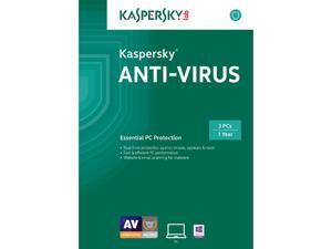 Kaspersky Anti-Virus 2015 3 User - Download