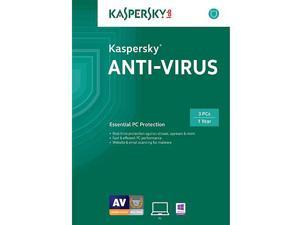Kaspersky Anti-Virus 2015 - 3 PCs
