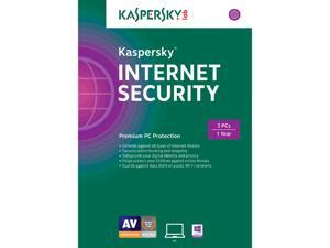 Kaspersky Internet Security 2015 - 3 PCs
