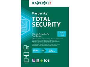 Kaspersky Total Security 2016 Software for 5-PCs