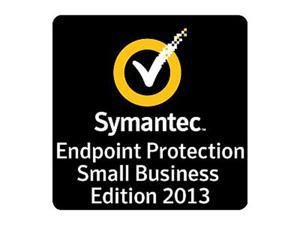 1 - Year - Symantec Endpoint Protection Small Business Edition 2013 - 1 User License - Commercial - Minimum 25 to 49 Unit Purchase Required