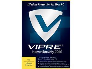 ThreatTrack Security Vipre Internet Security 2016 1PC Lifetime - Download