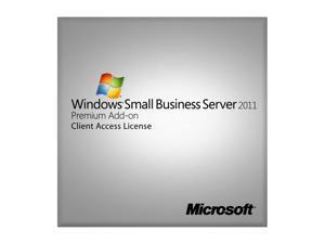 Microsoft Windows Small Business Server Premium CAL 2011 (no media, License only)