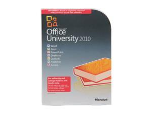 Microsoft Office University 2010 Academic Edition