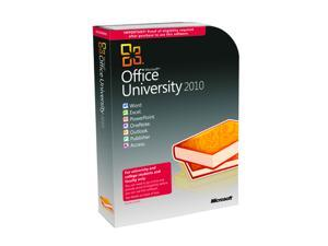 Microsoft Office University 2010 Academic Edition English
