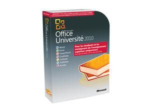 Microsoft Office University 2010 Academic Edition French