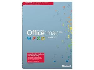 Microsoft Office University 2011 Academic Edition MAC French