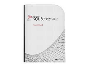 Microsoft SQL Server Standard Edition 2012 English US Only DVD 10 Clt