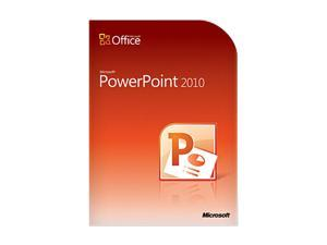 PowerPoint 2010 Home and Student - 3 PC - Download