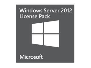 Microsoft Windows Server 2012 - 1 User CAL - OEM