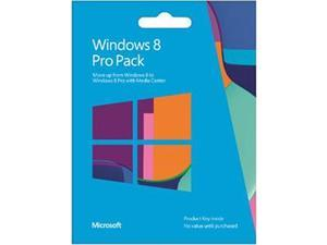 Microsoft Windows 8 Pro Pack - Product Key Card (no media)