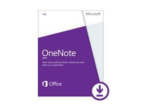 Microsoft OneNote 2013 - Download - 1 PC
