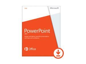 Microsoft PowerPoint 2013 (Non-Commercial) - Download - 1 PC