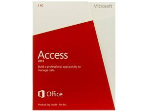 Microsoft Access 2013 Product Key Card (no media) - 1 PC